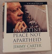 Palestine Peace Not Apartheid by Jimmy Carter 2006 5 CD Audiobook Set Unabridged