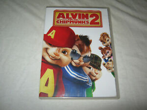 Alvin and the Chipmunks 2 -  VGC - DVD - R2