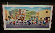 Looney Tunes on Parade- Giclee on Paper- Signed by Ruth Clampett