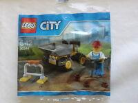 Lego City - 30348 -  Bauarbeiter mit Dumper in  Polybag Neu und OVP siehe Fotos