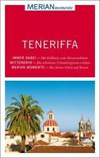 REISEFÜHRER TENERIFFA 2014/15 mit LANDKARTE ~ MERIAN momente ~wie neu~ UNGELESEN