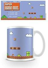 Nintendo Super Mario Bros Titel Becher NEU Geschenkverpackung 100%