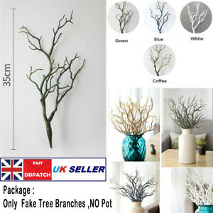 Artificial Dried Tree Branch Twigs Plant Craft Wedding Party Home Decor L 35CM