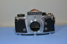 Exakta Vx1000 Silver Camera Body.