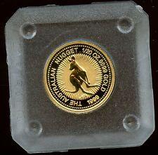 1999 Australian Gold 1/20th oz Kangaroo Nugget - .9999 fine Perth Mint
