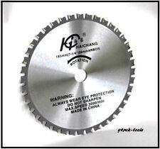 185mm X 16/20mm X 36 Dientes Corte De Metal Hoja De Sierra 4 Makita Panasonic Dewalt Hitachi