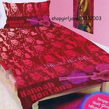 Disney Hannah Montana This is th Life - Single/Twin Bed Quilt Doona Duvet Cover