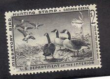 U S STAMP u.s.a, SC# RW25,rw 25 MNH OG 1959 Canada Geese, Bird Hunting stamp
