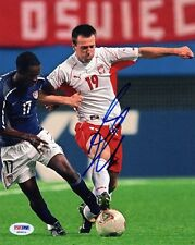 Maciej Zurawski SIGNED 8x10 Photo Poland *VERY RARE* PSA/DNA AUTOGRAPHED