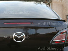 Unpainted Spoiler For Mazda 6 2nd Boot lip spoiler rear 08 07 new atenza $