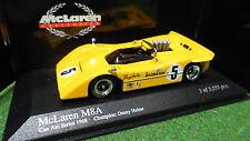 McLaren  M8A CAN AM SERIES 1968 CHAMPION HULME 1/43 MINICHAMPS 530684305 voiture