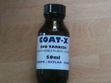 Manteau-x canne à pêche vernis liquide 50 ml Plastique blanc revêtement, Bâtiment de réparation