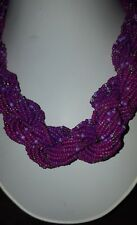 Beads from Ghana.purple color Linike Traditional African wedding