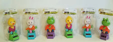 Solar Powered Dancing Frog Chick Bunny Rite Aid novelty 6 all new Easter Spring