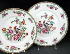 F Winkle PHEASANT (Smooth) Dinner Plate + Luncheon Plate GREAT CONDITION