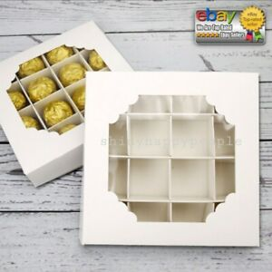 ⭐LOW PRICE⭐ LOW STOCK⭐ LAST CHANCE⭐20x Empty WHITE pick & mix Sweet Boxes EID