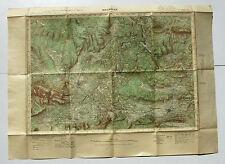 Carte de France au 50.000e - BRIGNOLES -Serv géographqique de l'Armée -Type 1922