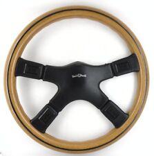 Genuine Italvolanti Prestige wood rim leather 370mm steering wheel. SUPERB!   8B