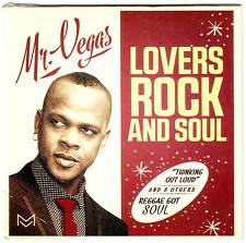 Mr Vegas Lovers Rock & Soul CD Album  NEW SEALED LIMITED EDITION RELEASE