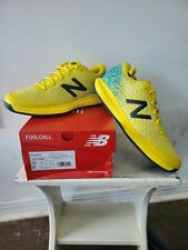 New listing New Balance Men's FuelCell 996 V4 Tennis Shoe Citra Yellow/Virtual Sky- size 12D