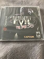 BRAND NEW RESIDENT EVIL NEMESIS 3 CAPCOM FACTORY SEALED SEGA DREAMCAST GAME