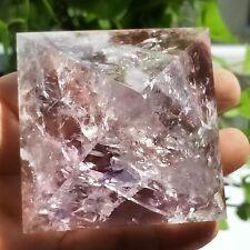 AAAA+190g Natural Amethyst Quartz Crystal Pyramid Healing China L4739