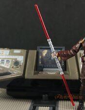 "Hasbro Star Wars 3.75"" Figure 1:18 Sith Darth Maul Lightsaber A649 D"