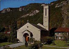 KIRCHEN Motiv-Postkarte Schweiz Kanton Bern Kirche in Meiringen, BO Suisse AK