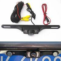 Car Rear View Backup Camera 8 IR Night Vision License Plate Frame Camera CMOS #M