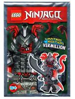 Lego Vermillion Warrior 891726 Ninjago Minifigure Foil Pack New Sealed