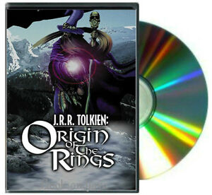 J.R.R. Tolkien The Origin of the Rings an unauthorized tribute DVD NEW