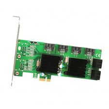 Syba SD-PEX40104 8 Port SATA III 6G PCI-e 2.0 x1 Card