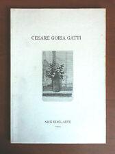 Catalogo della mostra di Cesare Goria Gatti Gal Nick Edel Torino 1989 - E16230