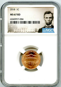 2018 (P) LINCOLN UNION SHIELD PENNY NGC MS67 CENT RARE - LINCOLN LABEL