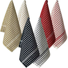 Terry Tea Towel Set of 2 40x65cm | 100% cotton | Many Colours to Choose from
