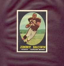 1958 Topps JIM BROWN rookie card #62 Jimmy ******NEAR MINT****** FABULOUS WOW!