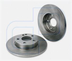 2 Brake Discs Mercedes Agrade W169 Front Diameter 10 7/8in Unventilated