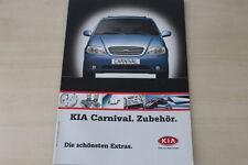 173968) Kia Carnival - Zubehör - Prospekt 2002