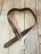 NWT Banana Republic Womens Brown Leather Adjustable Belt Size 32