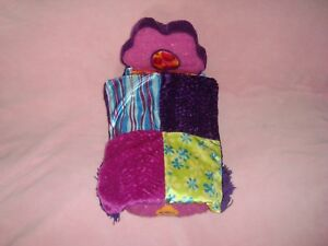 """Groovy Girls Bedroom Furniture Plush BED dated 2001 Manhattan Toy 14"""" long"""