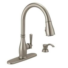 Delta Charmaine Single Handle Pull-Down Sprayer Kitchen Faucet.