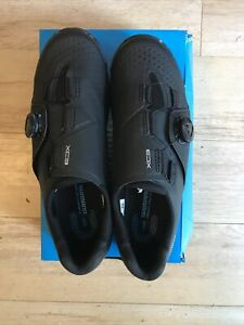 Shimano XC3 XC300 SPD Bicycle Cycle Bike Shoes Black Size EU42 UK 8