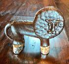 Kosta Boda Lion  Bertil Vallien Art Glass Paperweight Sweden Zoo Flat Back