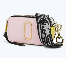 ON HAND Marc Jacobs Snapshot Small Camera Baby Pink Multi Camera Bag Crossbody