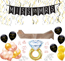 Miss to Mrs Bachelorette Party Decorations Kit Bridal Shower Supplies