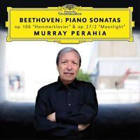 MURRAY PERAHIA - BEETHOVEN: PIANO SONATAS (HAMMERKLAVIER & MOONLIGHT)   CD NEW!