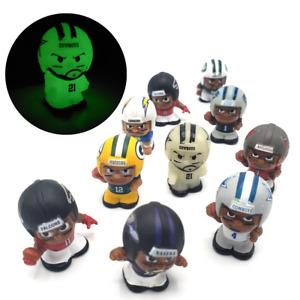 NFL TeenyMates Lot 10 Figures Rare Glow In The Dark Ezekiel Elliot Rodgers Dak