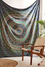 Indian Mandala Tapestry Wall Hanging Hippie Bohemian Bedspread Dorm Home Decor