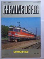 Chemins de fer n° 380 septembre 1986 revue de l'Afac