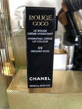 CHANEL Rouge Coco Hydrating Creme Lip Colour 09 ORGANDI ROSE NIB